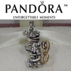 797497CZ LE Pandora Mickey 90 Anniversary Charm
